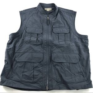 Duluth Trading Co Dry On The Fly Vest Grey